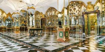 Almanyadaki Grünes Gewölbe Müzesi soyuldu