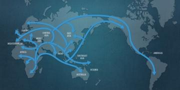 Genografik Projeye göre insanoğlu ne zaman, nerelere göçtü?