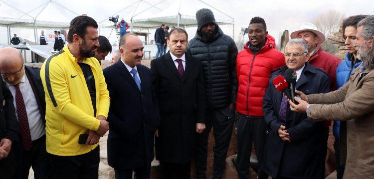 Erciyes Anadolu Holding, Kültepe Höyüğü'nün tanıtım sponsoru oldu
