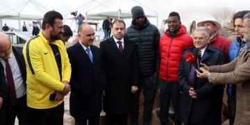 Erciyes Anadolu Holding, Kültepe Höyüğünün tanıtım sponsoru oldu