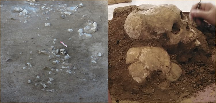 3.500-year-old skull found in Sapinuwa antic city of Hittite Empire