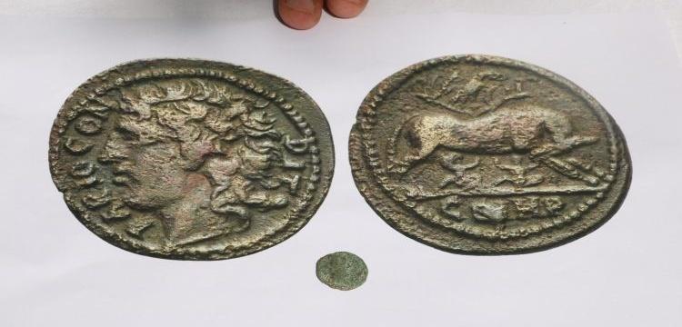 Şanlıurfa'da Roma dönemi 70 sikke ele geçirildi