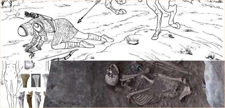 Ermenistan'da 2800 yıllık kadın savaşçı iskeleti bulundu