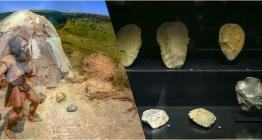 Dünyanın dördüncü en eski paleolitik insan aletleri Vanda sergileniyor