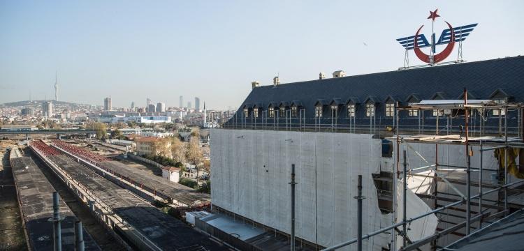 Haydarpaşa Garı'nda restorasyon çalışmaları 2020 yılında bitecek