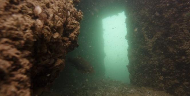 Rumkalenin su altında kalan kısımları