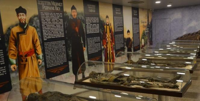 Amasya Müzesinin mumyaları resimlerle canlandırıldı