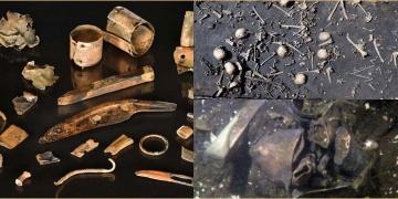 Avrupanın en eski savaş meydanında bulunan 31 obje kafa karıştırdı