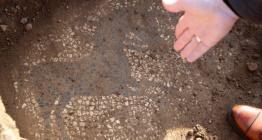 Manisada definecilerin satmak istediği 2200 yıllık mozaik korumaya alındı