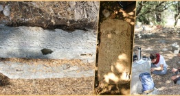 Muğlada 1500 yıllık hastane ve 1800 yıllık Dostlar yazılı mezar yazıtı bulundu