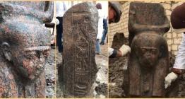 Mısırda Firavun II. Ramsese ait yeni bir heykel bulundu