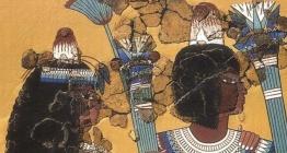 Mısır resimlerinde hayali olduğu sanılan garip külahlar gerçek çıktı