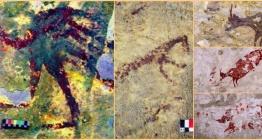 44 bin yıllık mağara resmi tarihin bilinen en eski av hikayesini betimliyor