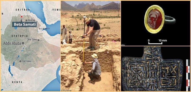 Etiyopya'da Aksum Krallığına bağlı kayıp antik kent bulundu