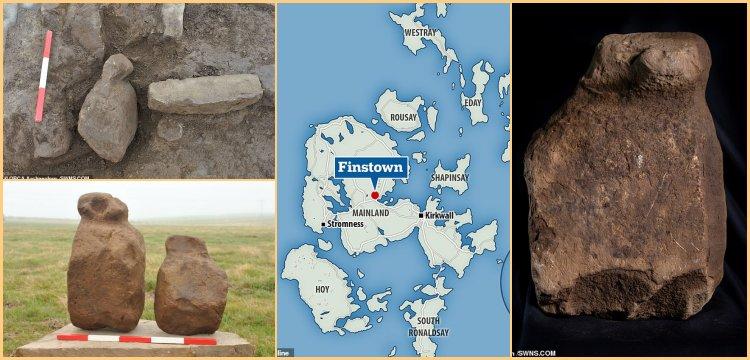 İskoçya'da işlevi anlaşılamayan 4 bin yıllık 9 taş keşfedildi