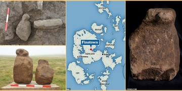 İskoçyada işlevi anlaşılamayan 4 bin yıllık 9 taş keşfedildi