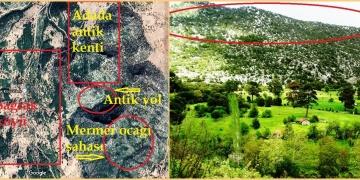 Ispartada Antik Yola 400 metre mesafedeki taş ocağına ruhsat verildi!