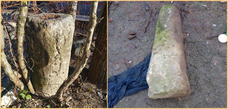 Alaplı'da bir köy evinde Roma dönemine ait 5 sütun yakalandı