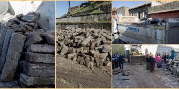 Diyarbakır Surlarından sökülüp satılan taşlar için operasyon düzenlendi