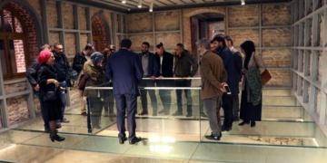 Kazlıçeşme Kültür Merkezi binasında bulunan mozaik korumaya alındı