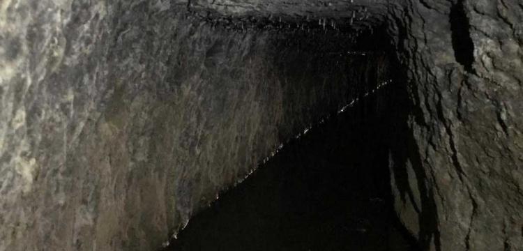 Denizlide yer altı kenti sanılan yapı 2 bin yıllık kanal
