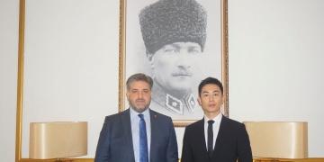 Çinli aktör Zhu Yawen Türkiyenin turizm elçisi oldu