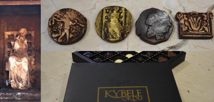 Ordu'nun Ana Tanrıçası Kybele kentin çikolata markası oldu