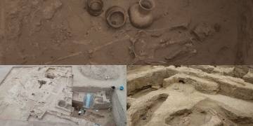 New Huari temple discovered and 11 skeletons found Moche grave in Peru