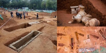 57 ancient tombs discovered in China
