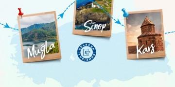 Kars, Sinop ve Muğla birer proje ile turizmde gelecek arayacak