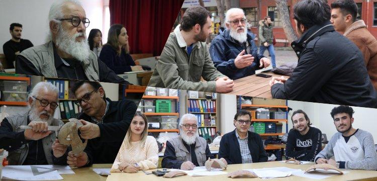67 yaşındaki arkeoloji öğrencisi Zafer Dilşeker'in hedefi yüksek lisans