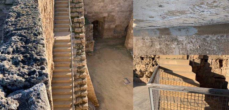 Kıbrıs'taki Othello Kalesi'nin restorasyonu tepki çekti