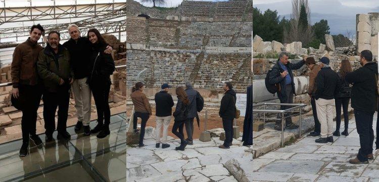 Michael Douglas: Efes Antik kenti Pompeii'den daha iyi korunuyor