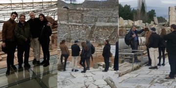 Michael Douglas: Efes Antik kenti Pompeiiden daha iyi korunuyor