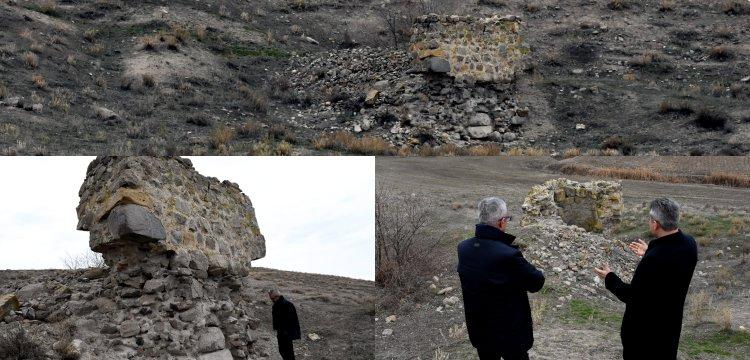 Kırşehir'deki tarihi su değirmeninin son kalıntıları korumaya alındı
