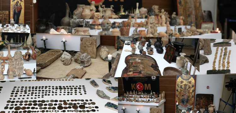 Security forces seized artifacts belonging to 2000 BC in Istanbul