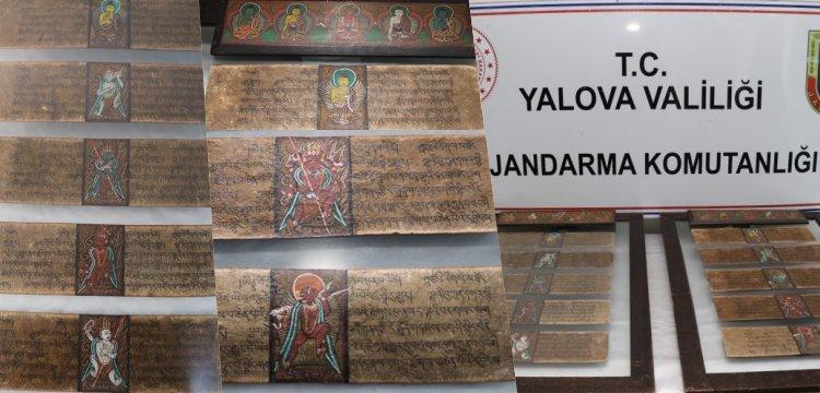 Tarihi eser denilen Budist el yazmalarına Jandarma müşteri oldu