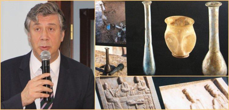 TANAP Boru hattından çıkan 247 eser Bandırma Arkeoloji Müzesi'nde