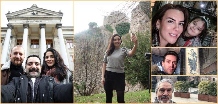Ünlüler Müzede Selfie Günü'ne destek verdiler