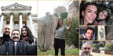 Ünlüler Müzede Selfie Gününe destek verdiler