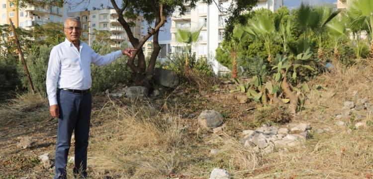 Aratos'un mezarının bulunduğu arsa belediyeye bağışlandı