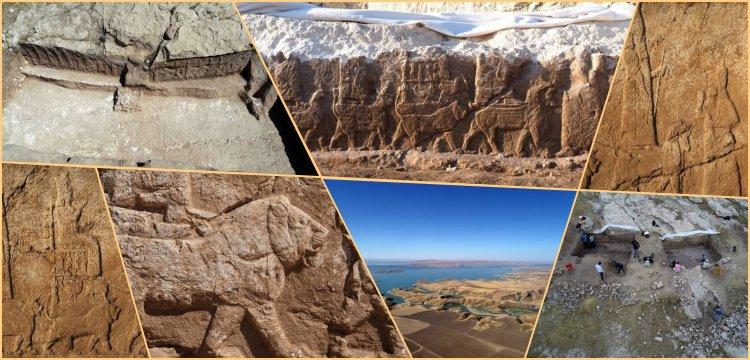 Kuzey Irak'ta kayalara oyulmuş Asur Kabartmaları gün yüzüne çıktı