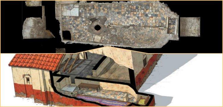 Bilinen en mamur Mitras Tapınağı İtalya'da keşfedilmiş olabilir