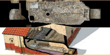 Bilinen en mamur Mitras Tapınağı İtalyada keşfedilmiş olabilir