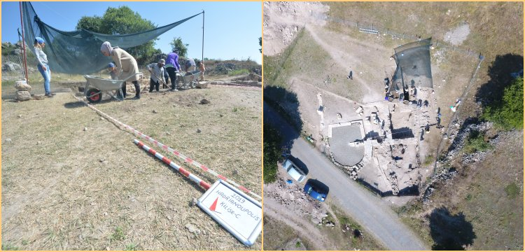 Hadrianaupolis Antik Kenti 2020 arkeoloji kazılarına başlandı
