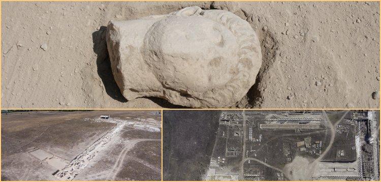 Laodikya kazılarında İmparator Deli Neron'a ait heykel başı bulundu