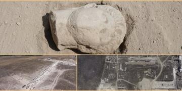 Laodikya kazılarında İmparator Deli Nerona ait heykel başı bulundu
