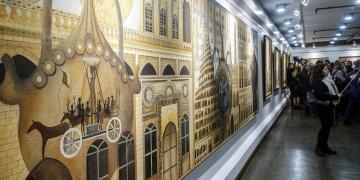 Ressam İsmet Yedikardeşin Medeniyetler Kapısı Mardin sergisi açıldı