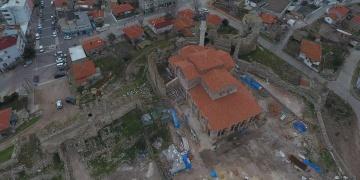 Enez Fatih Camisinin bir köşesi müzeye dönüştürüleek
