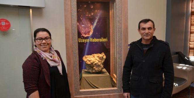 İşte Türkiyenin en büyük üçüncü göktaşı: Gerdekkaya gök taşı